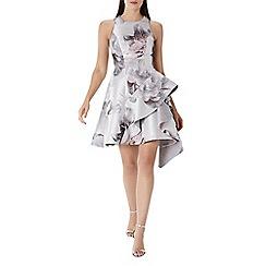 Coast - Floral print 'Tara' jacquard ruffle dress