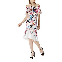 Coast - Floral print 'Jackie' scuba shift dress