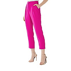 Coast - Magenta pink 'Cali' tapered trousers