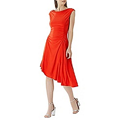 Coast - Red 'Millie' ruched jersey dress