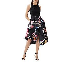 Coast - Floral print 'Katie' twill full midi dress