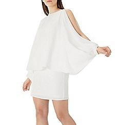 Coast - Ivory white 'Florencia' overlay shift dress