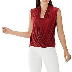 561fdfacd6831 red - Shell - Party   going out tops - Women