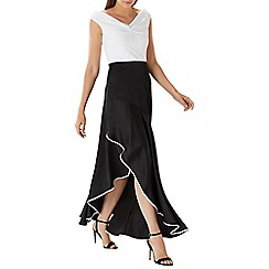 Coast - Monochrome 'Montana May' bardot maxi dress