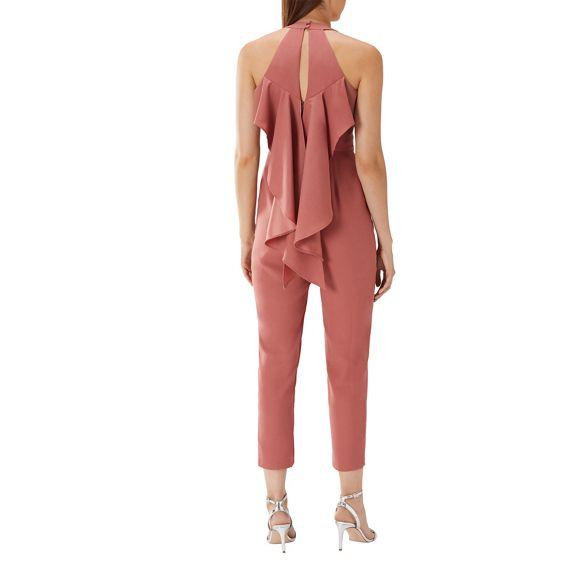 jumpsuit frill back Rose pink Coast 'Gabriella' tIwRX1Rnxq