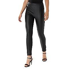 Coast - Black 'Jasper' PU legging