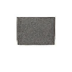 Coast - Black 'Mabel' sparkle pouch bag