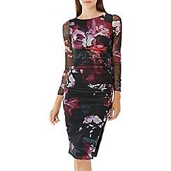 Coast - Floral printed 'Liberty' mesh dress