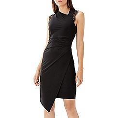 Coast - Black 'Evan' lace jersey dress