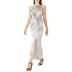Coast - Silver 'Abigail' knot detail maxi dress