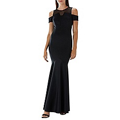 Coast - Black 'Lorna' fishtail maxi dress