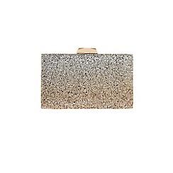 Coast - Glitter 'Cindy' ombre clutch bag