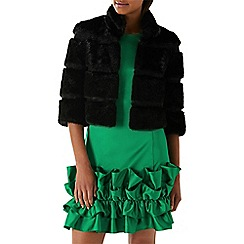 Coast - Black 'Lynn' faux fur jacket