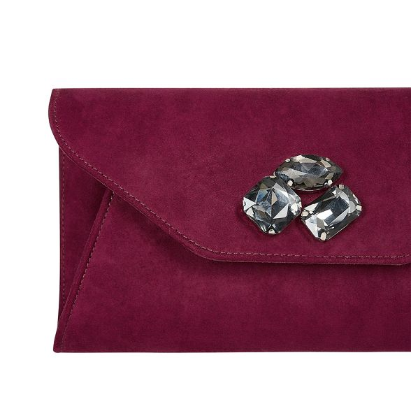 merlot clutch 'Brandy' jewel bag Purple Coast TY15qxzwBn