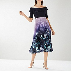 Coast - Multicoloured 'Emily' pleated midi dress