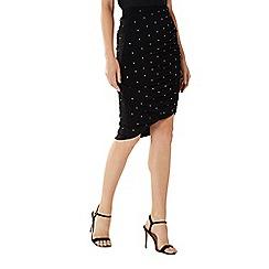Coast - Black 'Hoxton' hotfix gem skirt