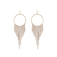 Coast - Gold 'Blake' tassel earrings