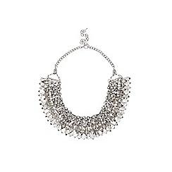 Coast - Smoke grey 'Selena' statement necklace
