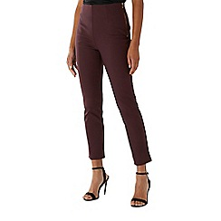 Coast - Purple merlot 'Alexa' slim leg trouser