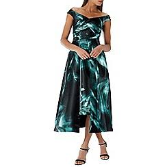 Coast - Multicoloured 'Gertrude' Printed Midi Dress