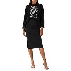 Coast - Black 'Grace' peplum tailored jacket