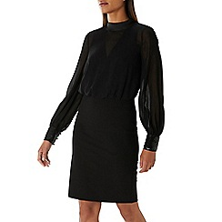Coast - Black 'Tatiyana' sequin trim dress