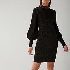 Coast - Black 'Dakota' Knit Dress