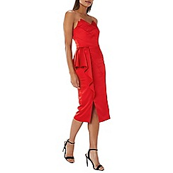 Coast - Red 'Taylor' strapless cocktail dress