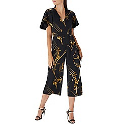 Coast - Printed 'Eldora' wide leg jumpsuit
