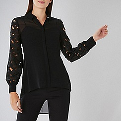 Coast - Black Cressida Lace Blouse