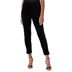 Coast - Black 'Alexa' velvet slim leg trouser