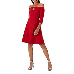 Coast - Red 'Maisie' bardot skater dress