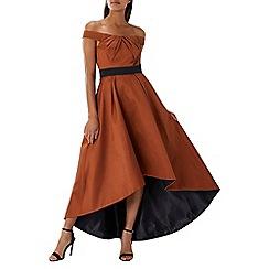 Coast - Russet red 'Lizetta' bardot maxi dress