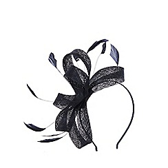 Coast - NAVY ADALINE SMALL LOOP FASCINATOR