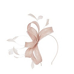 Coast - CREAM ADALINE SMALL LOOP FASCINATOR