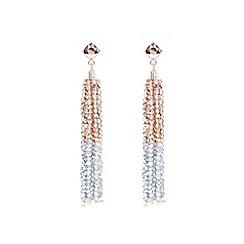 Coast - Rose gold 'Flo' beaded earrings