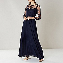 Coast - NAVY ODETTA LACE MAXI DRESS