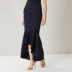 Coast - NAVY LILLI FISHTAIL SKIRT