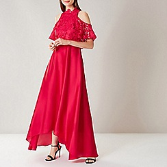 Coast - Red Lyndsie Lace Maxi Dress