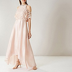 Coast - CREAM LYNDSIE LACE MAXI DRESS