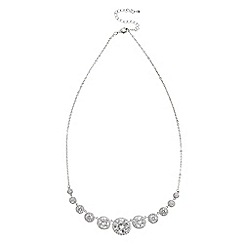 Coast - Silver 'Zadie' cubic zirconia necklace
