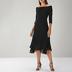 Coast - Black Windsor Dress