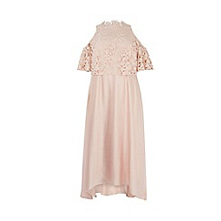 Coast - Blush 'Lyndsie' Lace Maxi Dress - Curve