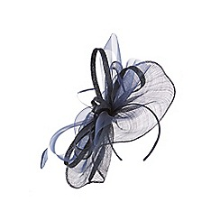 Coast - NAVY LEILA LARGE FASCINATOR