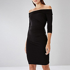 Coast - Black Petra Bardot Dress