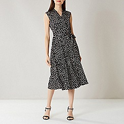 Coast - Mono Daisy Spot Shift Dress D