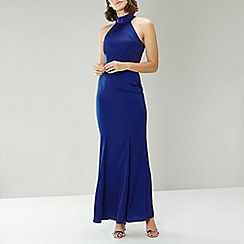Coast - BLUE ARIELLA MAXI DRESS