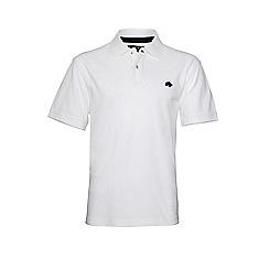 Raging Bull - White new signature polo shirt