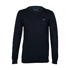 Raging Bull - Crew Neck Navy