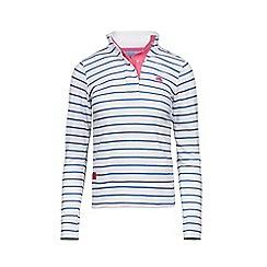 Raging Bull - White striped sweatshirts